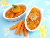Stew of carrots Royalty Free Stock Photography