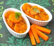 Stew of carrots Stock Image