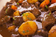 Stew with Carrots and Potatoes Stock Photography