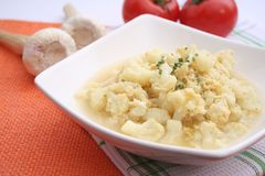 Stew of cauliflower Stock Photo