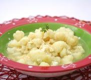 Stew of cauliflower Royalty Free Stock Image