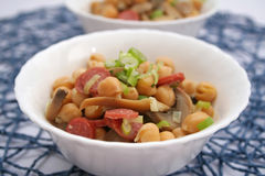 Stew of chick peas Royalty Free Stock Images