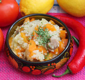 Stew of couscous Royalty Free Stock Images