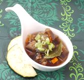 Stew of eggplants Royalty Free Stock Photography