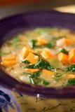 stew för spenat för jordnötpotatis söt senegalese Fotografering för Bildbyråer