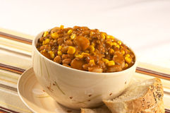 stew fasolki Zdjęcie Royalty Free