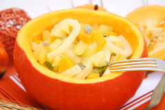 A stew of fennel and pumpkin Royalty Free Stock Photo