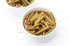 A stew of green beans Stock Photo