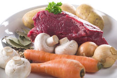 Stew Ingredients Stock Photography
