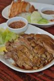 Stew jowl. Thai style stew Pork meat royalty free stock images