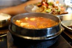 Stew Kimchi - κορεατικά τρόφιμα στοκ φωτογραφίες με δικαίωμα ελεύθερης χρήσης