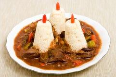 Stew with kuskus Royalty Free Stock Photo