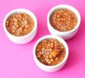 Stew of lentils with carrots Royalty Free Stock Images
