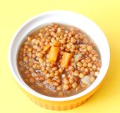 Stew of lentils Royalty Free Stock Images