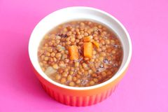 Stew of lentils Stock Photography