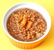 Stew of lentils Stock Photo