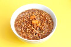 Stew of lentils Royalty Free Stock Photography