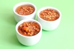 Stew of lentils Stock Images