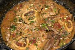 Stew marrowbone Royalty Free Stock Image