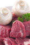 Stew Meat Stock Photo