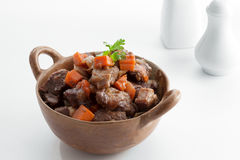 Stew meat Royalty Free Stock Photography