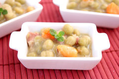 Stew of peas Stock Photo