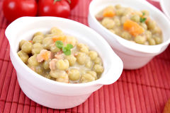 Stew of peas Stock Photography