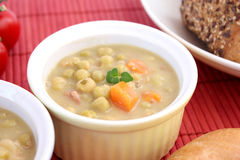 Stew of peas Stock Photos