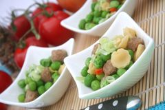 Stew of peas. A fresh stew of peas Royalty Free Stock Images