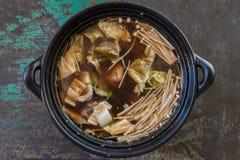 Stew of Pork Rib and Herbal Soup Bak Kut Teh Royalty Free Stock Image