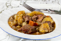 Stew with potatoes Royalty Free Stock Image
