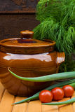 Stew pottery Stock Images