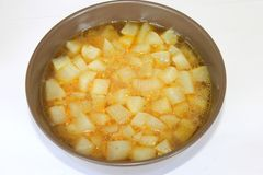 Stew of radish Royalty Free Stock Photography
