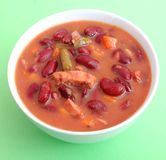 Stew of red beans Royalty Free Stock Photo