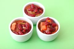 Stew of red beans Stock Images