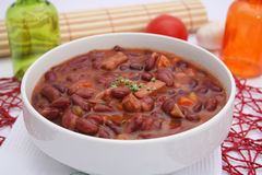 Stew of red beans Royalty Free Stock Images