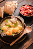 Stew soup Stock Images