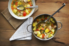Stew with vegetable Stock Images