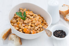 Stew With Soybeans And Vegetables Stock Image