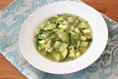 Stew of zucchini Stock Image