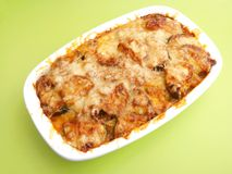 Stew of zucchini and meat Royalty Free Stock Photography