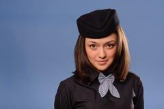 Steward (hôtesse de l'air) photos stock