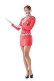 Steward (hôtesse de l'air) asiatique Images libres de droits