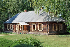 Steward house in Lermontov estate Stock Photo