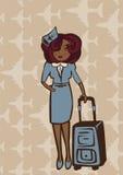 Stewardesa Zdjęcia Stock