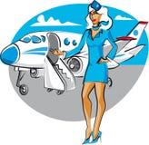stewardesa Obraz Stock