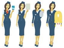 stewardesa ilustracji