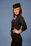 Stewardess Royalty Free Stock Image
