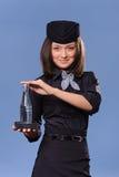 Stewardess Stock Images