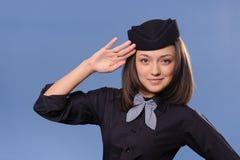 Stewardess Royalty Free Stock Photography